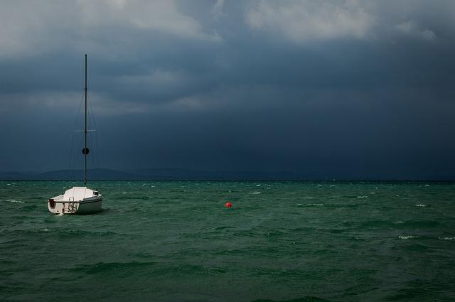 Veszélyes vihar a Balaton térségében