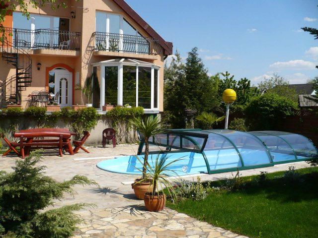 Szabó-ház bio medencével