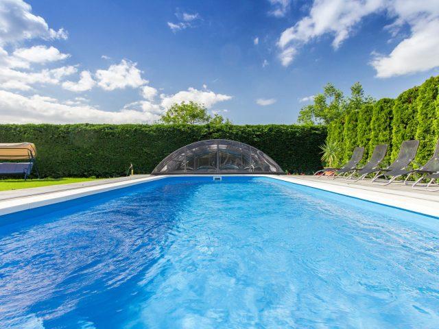 Anita medencés apartmanja M32c – Balatonkeresztúr